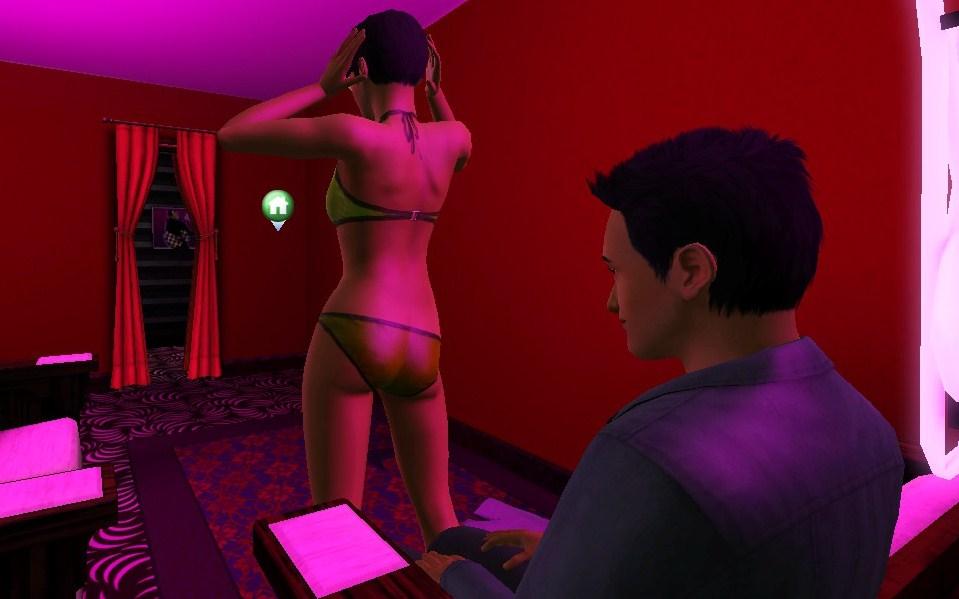 Los sims 2 stripper