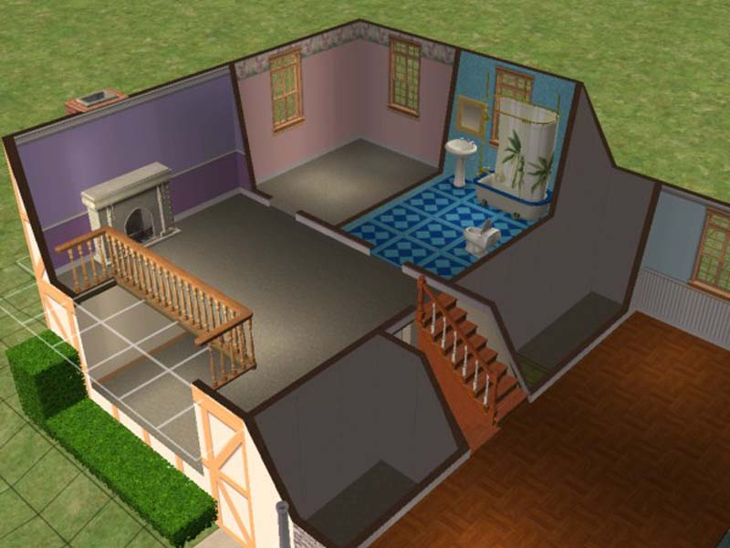 Day In Sims Free Rooms