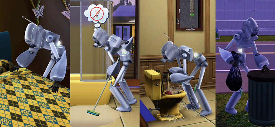 Mod The Sims - Servo from The Sims 2