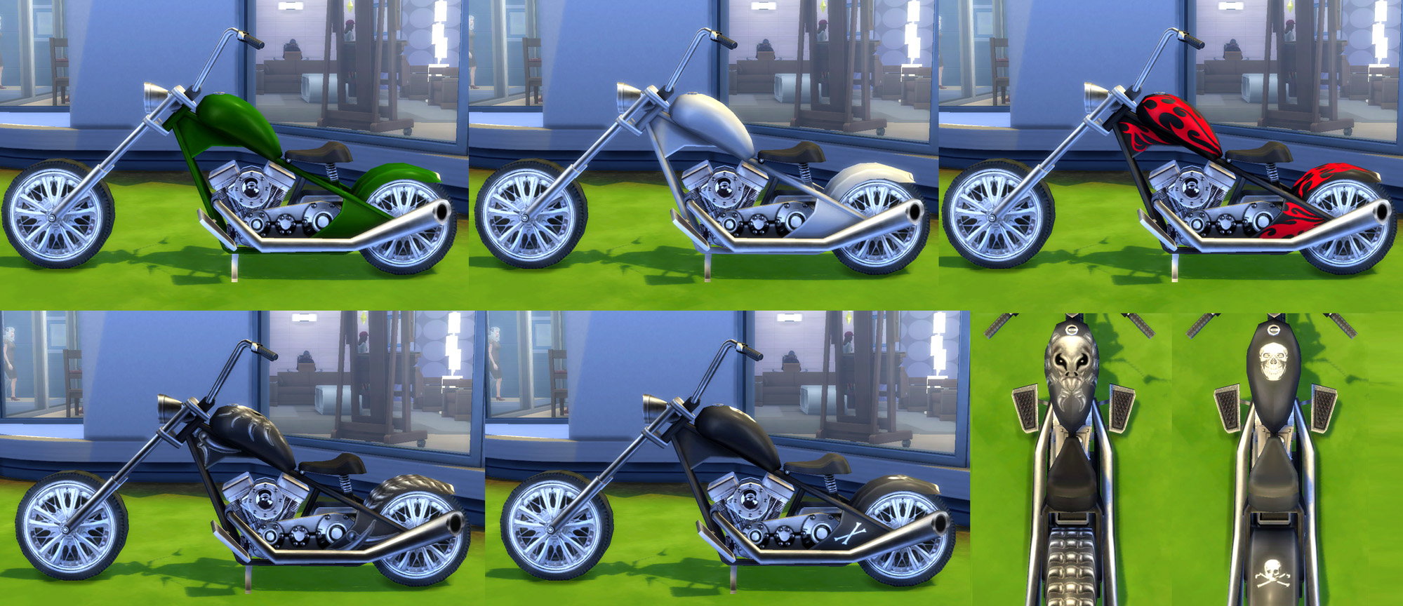 Terrific Mod The Sims Sittable Motorcycle Ts3 Conversion Caraccident5 Cool Chair Designs And Ideas Caraccident5Info