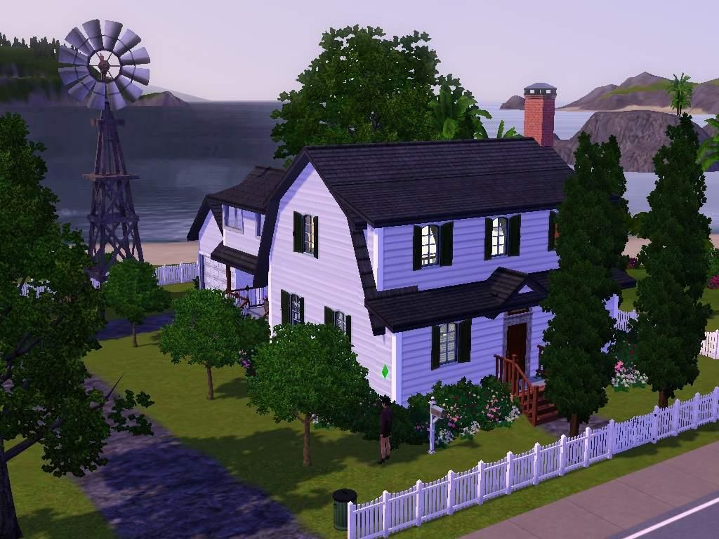 Mod The Sims Country Charm Farms A Farmhouse For Your