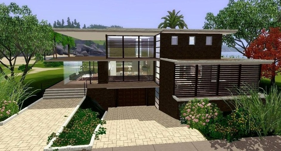 Sims 3 fun time mod the sims cc for Big modern house sims 4