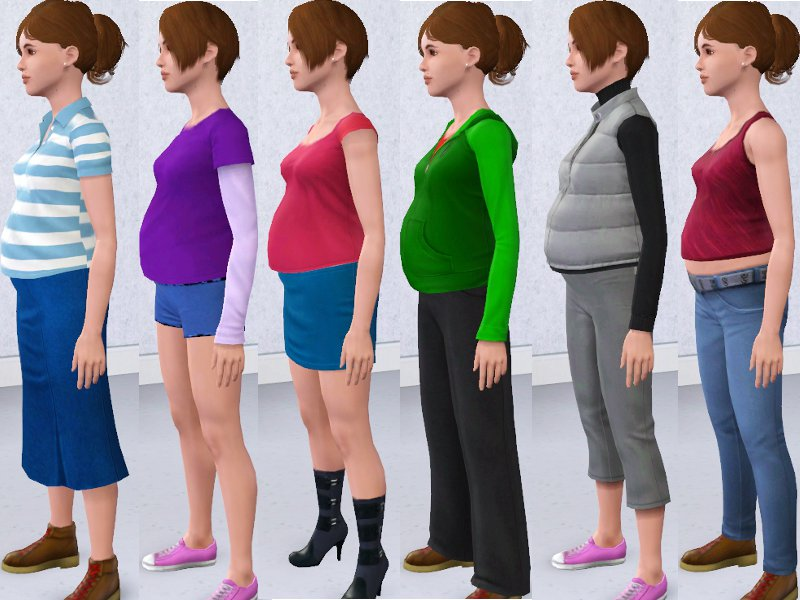 sims 3 maternity clothes download