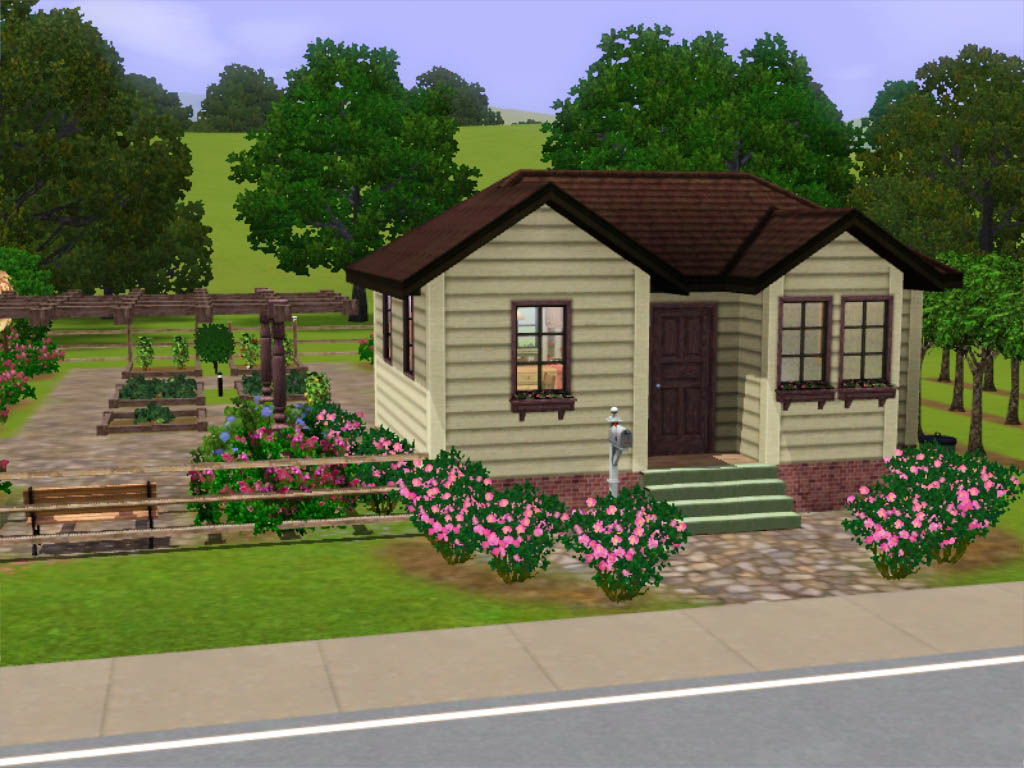 Mod the sims member minkk for Minimalist house sims 2