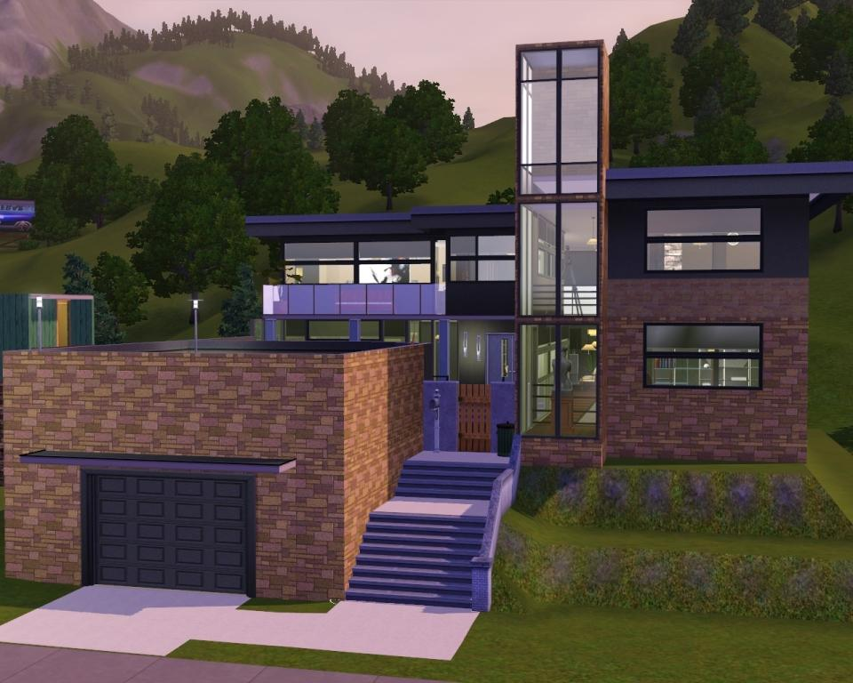 Sims 3 house layouts for Sims 3 home designs