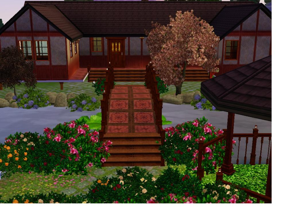 Mod The Sims Traditional Japanese Home