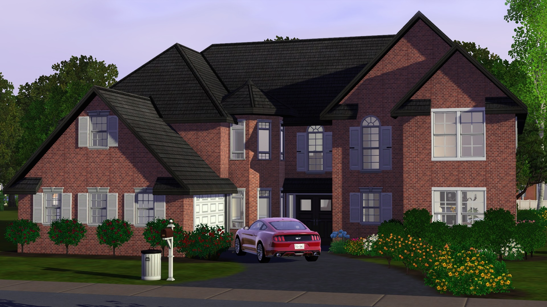 Mod the sims houston for Large family home