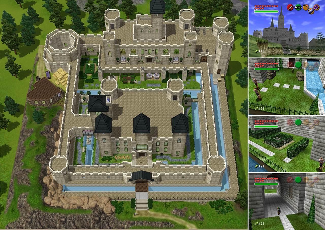 411763 on Medieval Castle Floor Plan Blueprints