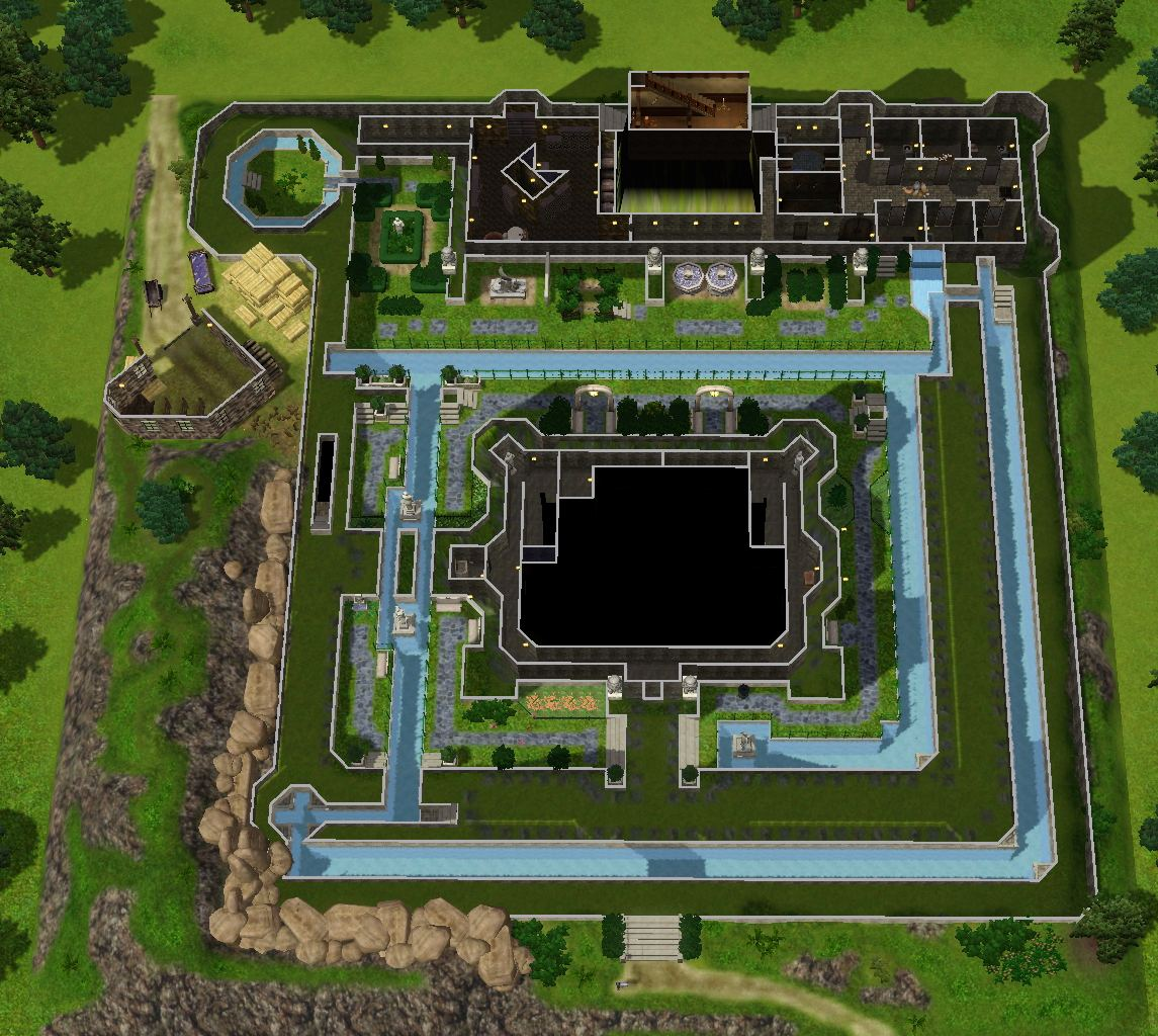Mod The Sims - Zelda Castle (inspired by Ocarina of Time) Zelda Castle House Plan on icf castle plans, concrete castle plans, luxury castle plans, historic castle plans, castle home, modern day castle plans, castle under attack, minecraft castle plans, castle roof plans, castle for sales in us, adobe castle plans, castle town plans, castle building plans, castle mansion, castle design, castle tower plans, castle layout, medieval castle plans, castle school plans, small castle plans,