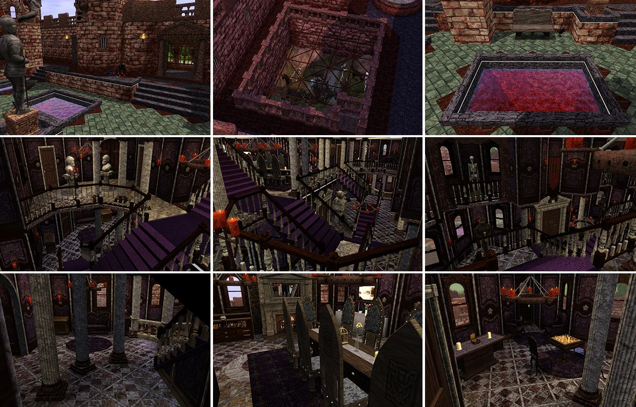 Mod The Sims Flesh And Bones The Vampire Castle