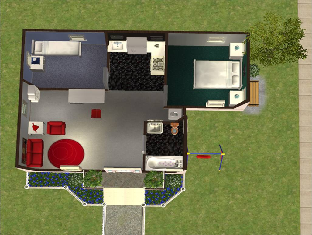 Modern house sims 3 floor plans joy studio design for Sims 3 floor plan