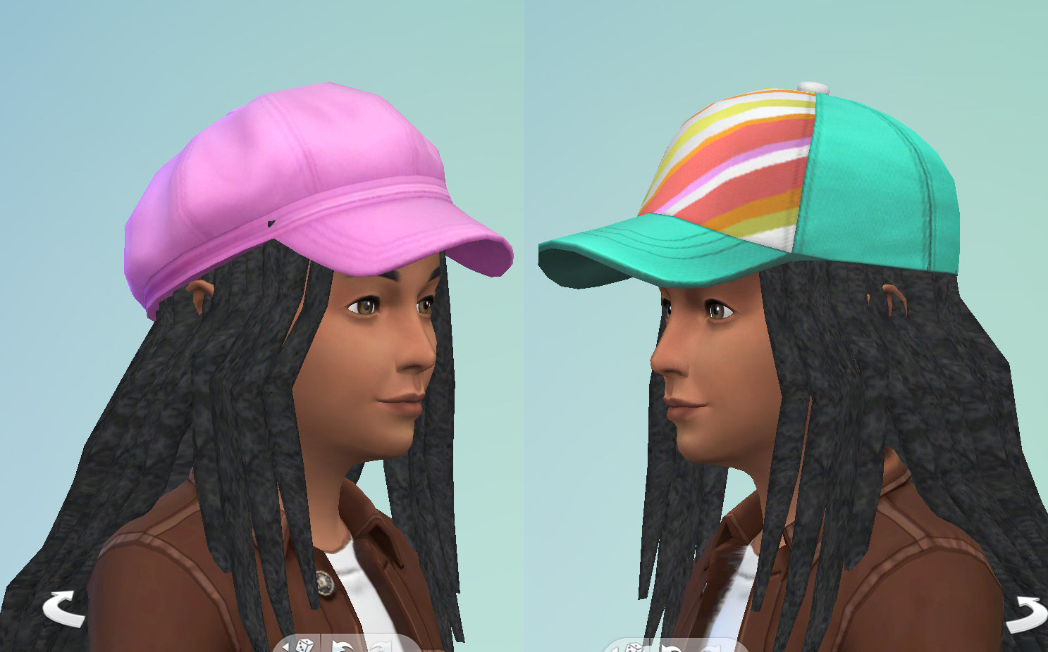 Bob Marley Dreads Unisex Child To Elder For Sims 4 - Madreview net