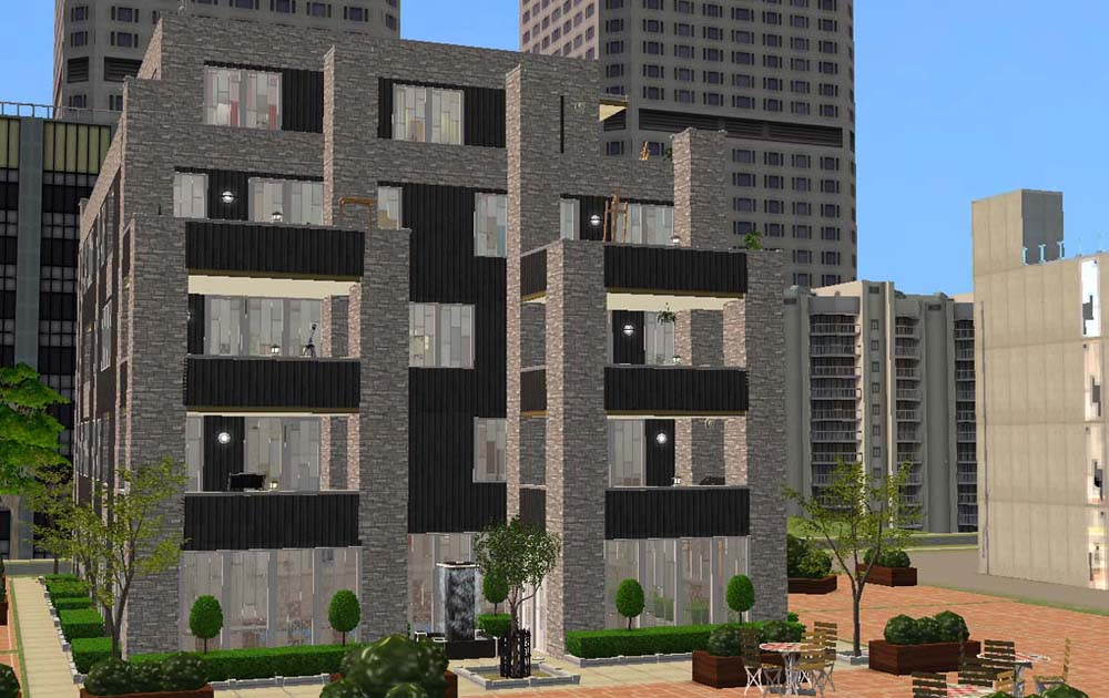 Mod the sims member klemens for Apartment design sims 3