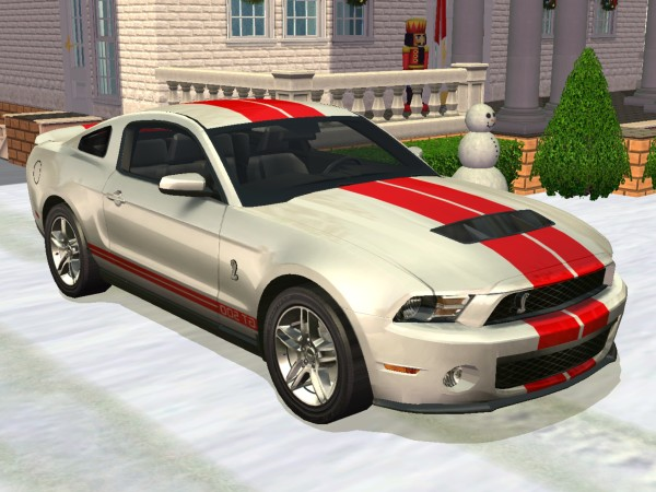 mod the sims 2010 ford mustang shelby g. Black Bedroom Furniture Sets. Home Design Ideas