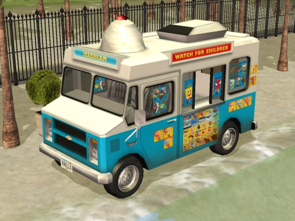 Mod The Sims - Chevy Ice Cream Truck