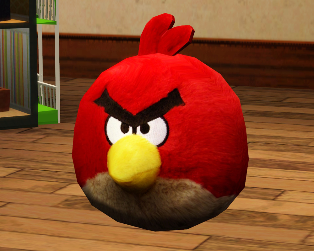 Angry Birds Toys : Mod the sims angry birds plush toy