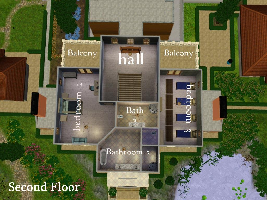 Sims 2 house plans joy studio design gallery best design for Sims 2 house designs floor plans