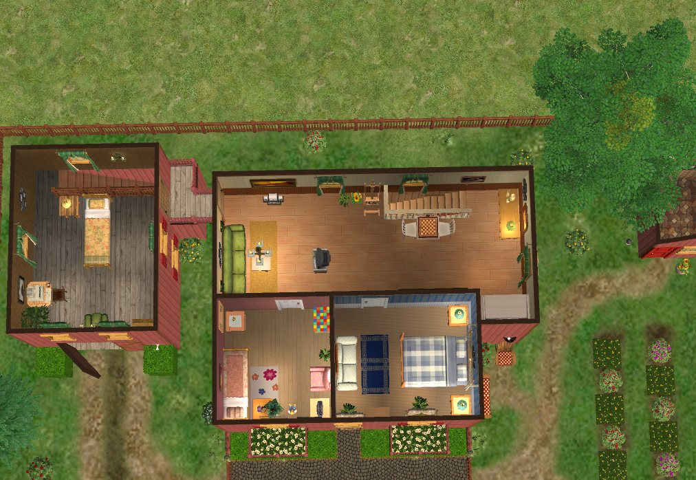 Mod The Sims Golden Glade Family Farm A Two Story