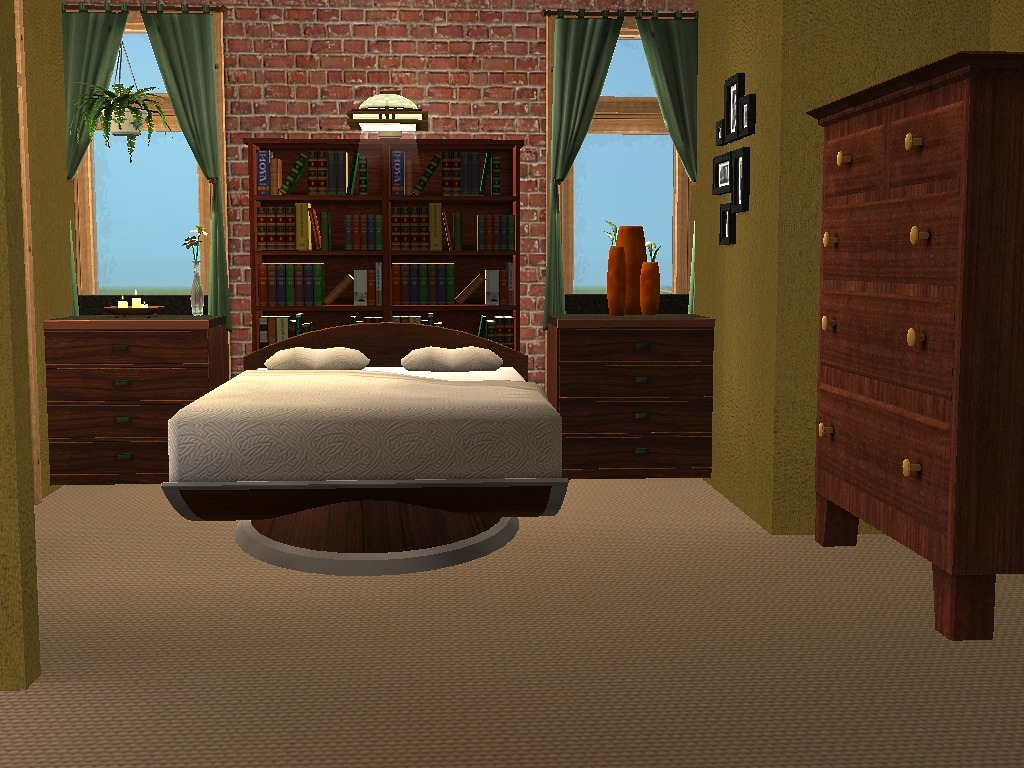 mod the sims 2 honey lane a two story house with 3 bedrooms click image for larger version name master bedroom jpg size 230 9 kb