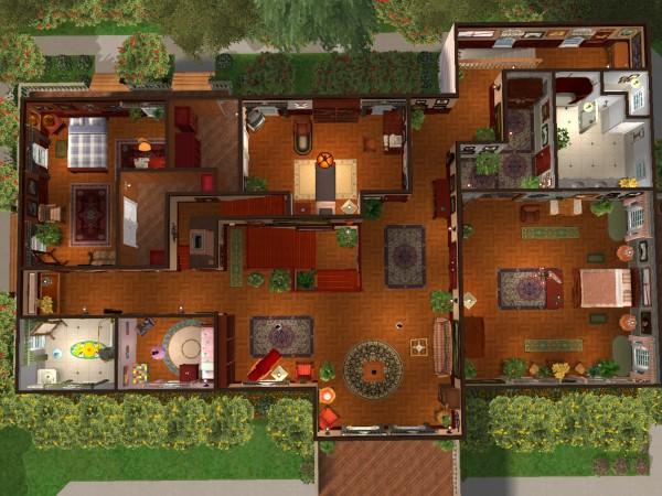 7th heaven house floor plan 28