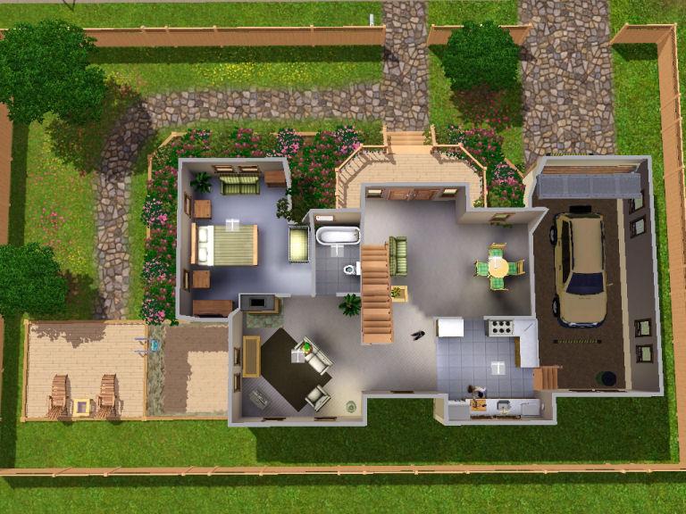 Mod the sims 2 park avenue for Sims 2 floor plans