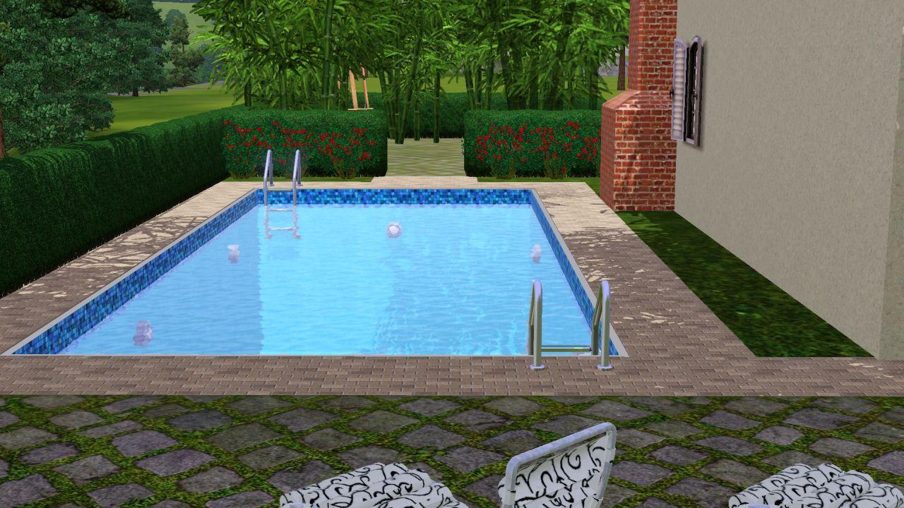 Mod the sims maison du village 4 bed house for Garden room 2x3