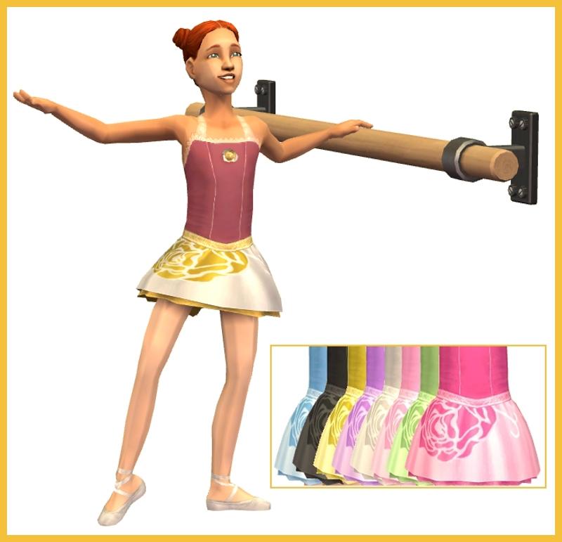 Naomi Kvetinas Nao Tl Set Poster: Roupas De Ballet Para Crianças