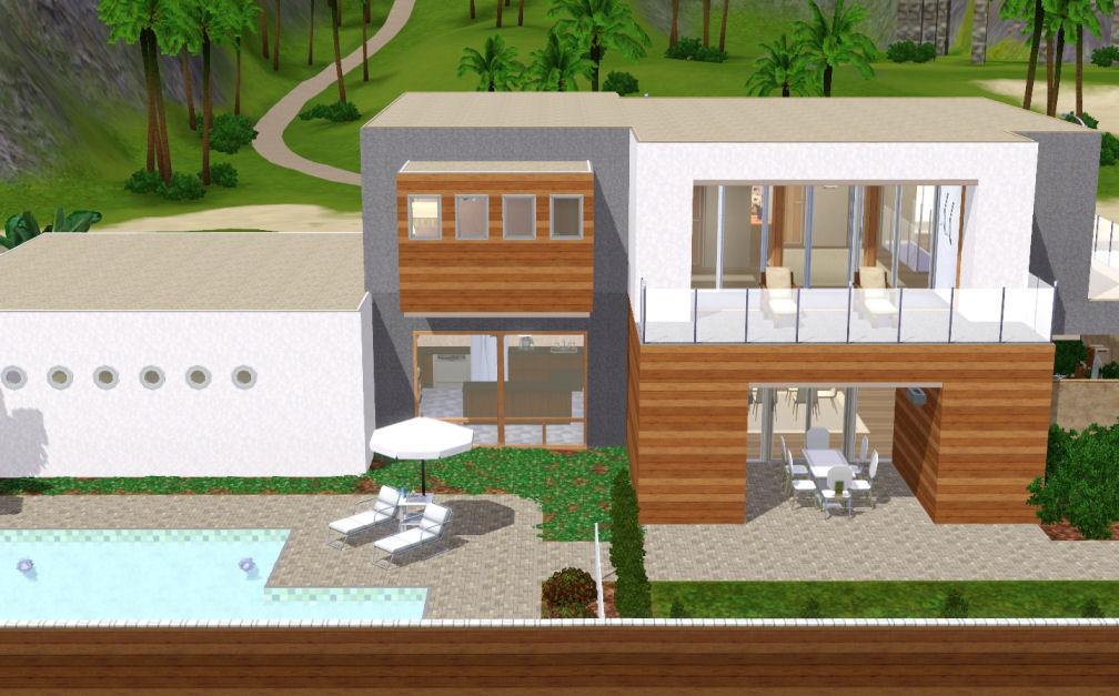 Mod The Sims - Jeanne - une maison moderne