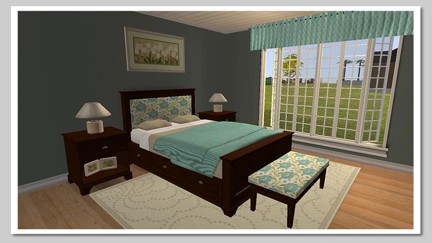 Pottery Barn Cynthia Bedroom