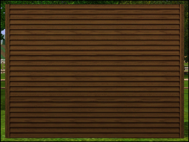 Mod the sims narrow horizontal siding for Horizontal wood siding panels