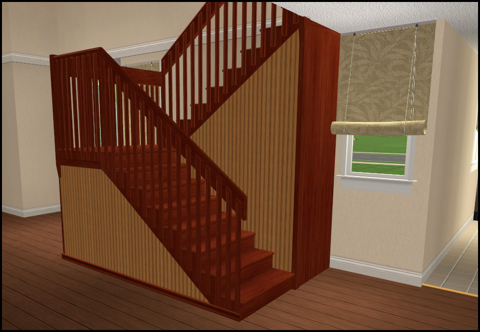 Mod The Sims Simple Structure Staircase