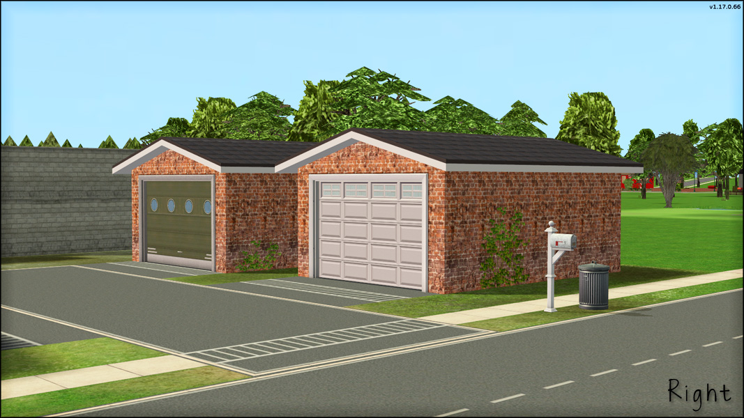 Mod The Sims Rotatable Garage Doors