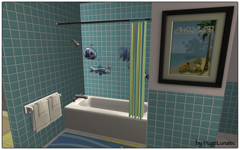 Mod The Sims Maxis Shower Tub Combo Backless