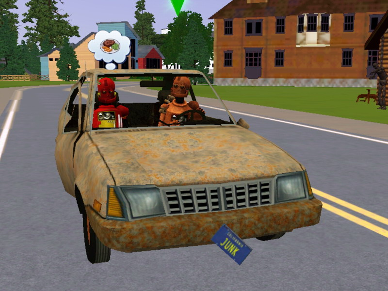 Mod The Sims The Junkyard Dawg Really Junky Car