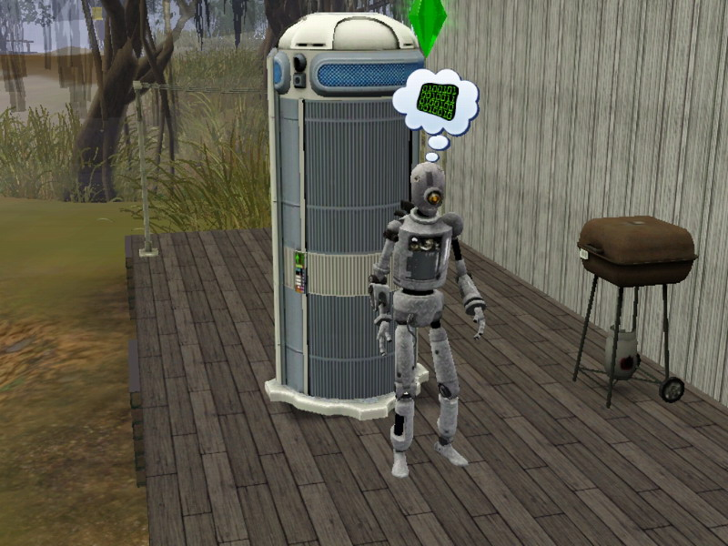 Mod The Sims - Simbot Charging Station