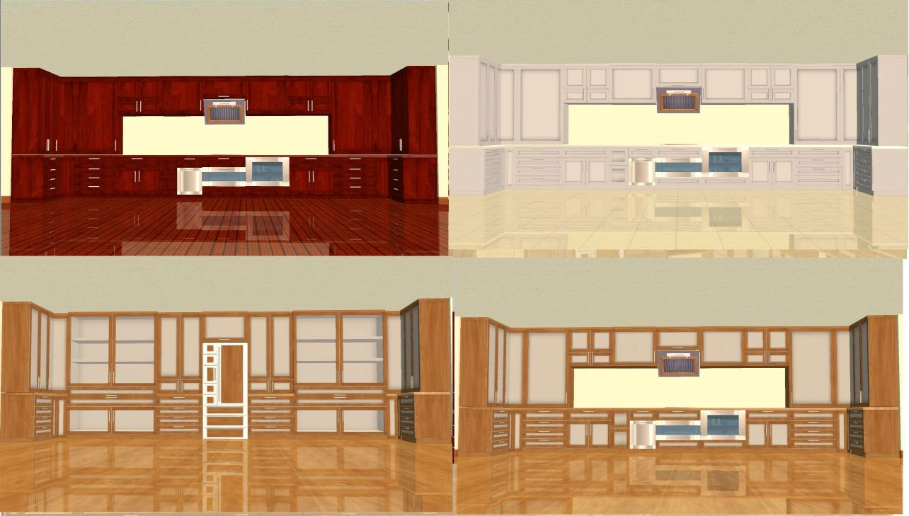 Mod the sims anchorage kitchen and dining for Anchorage kitchen cabinets