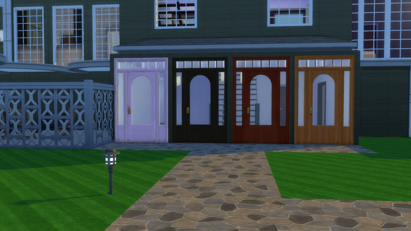 Mod The Sims Colonial Door