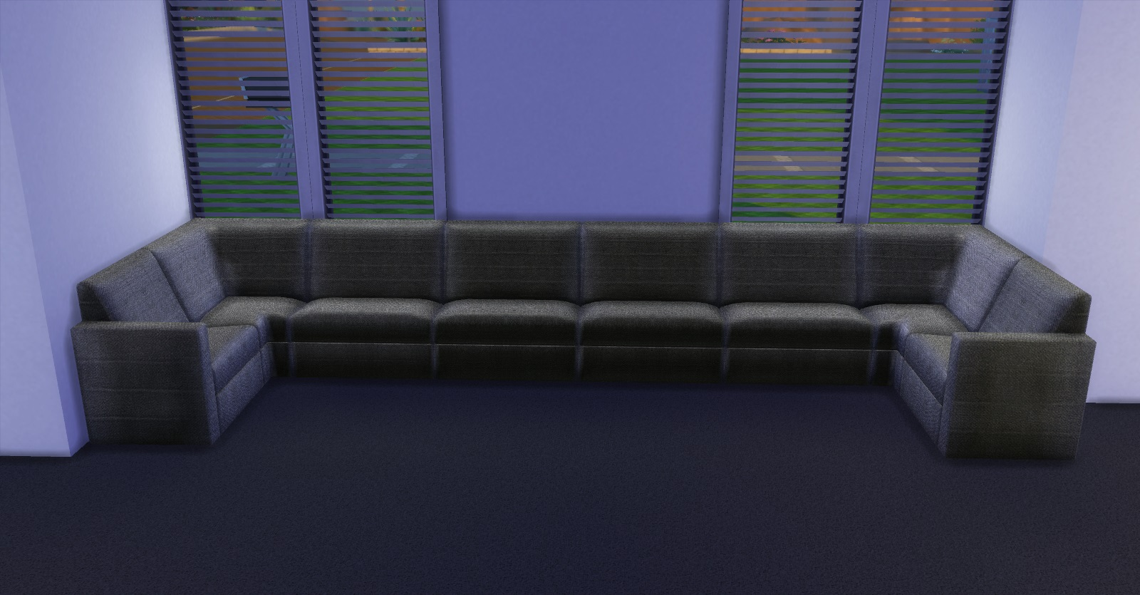 mod the sims sectional living With sectional sofa sims 4