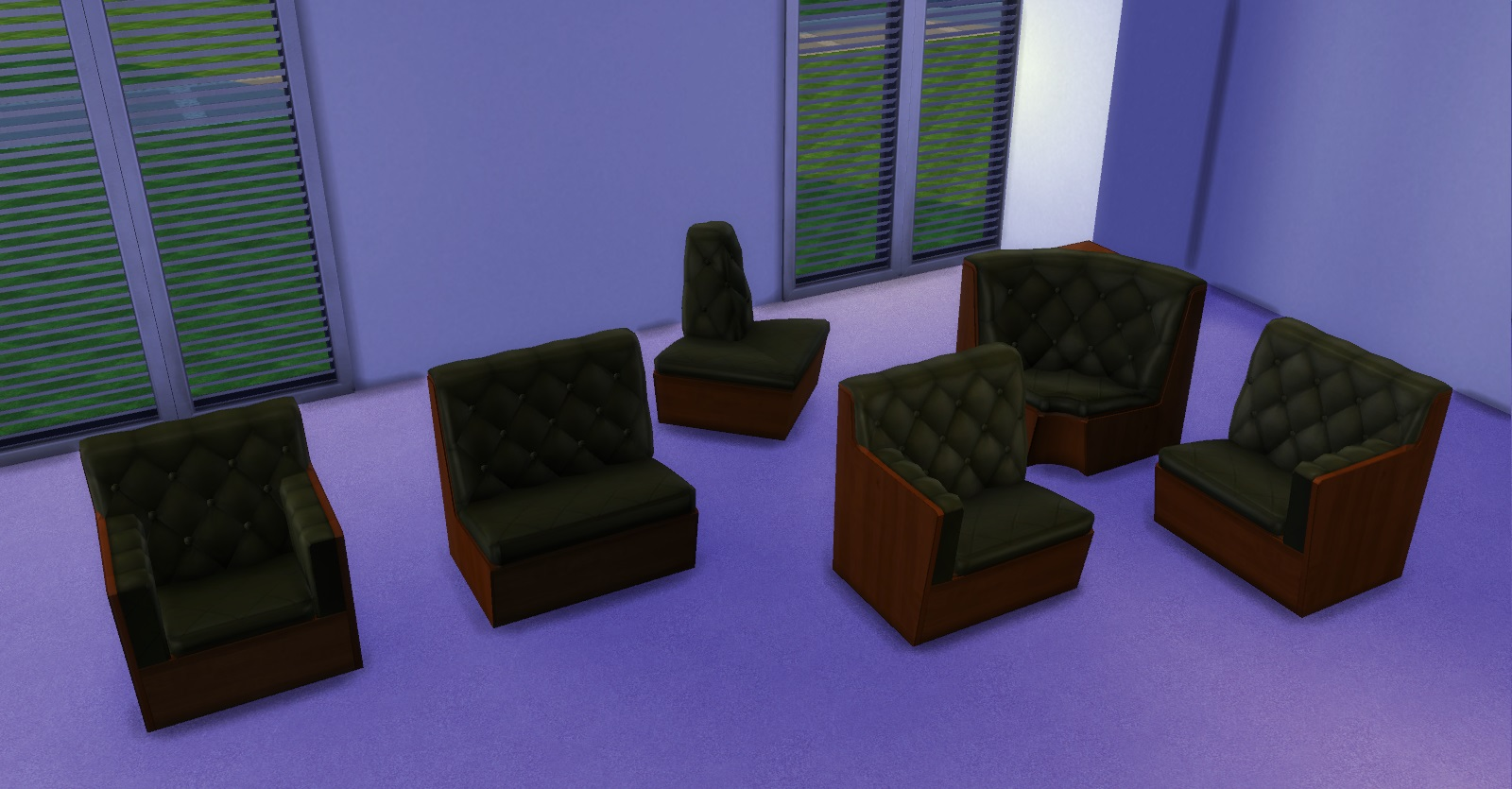 Since its not possible yet to create a sectional chair or sofa for the game each one serves as a living chair and can all be joined to create a sectional ... : sims 3 sectional - Sectionals, Sofas & Couches