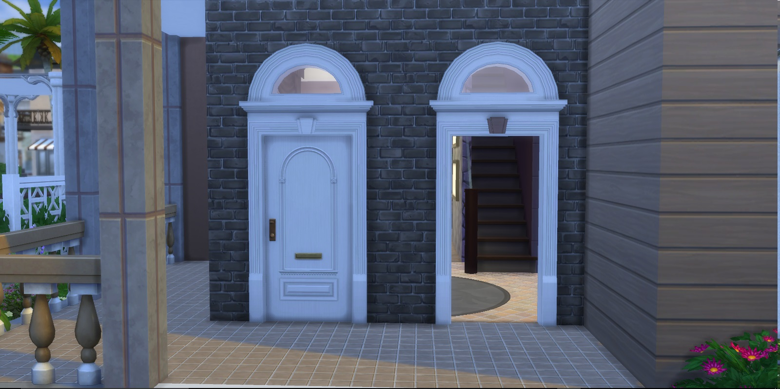 mod the sims great traditions doorway and arch On doorway doors