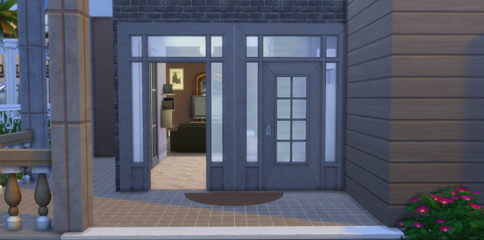 Mod The Sims Prestine Pastoral Door And Arch