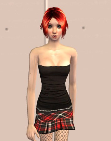 Mod The Sims - Resika Rogue Teen Top Model ~ By Request