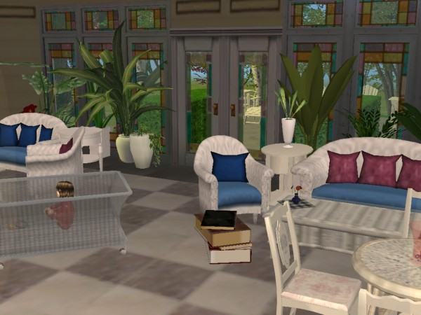 mod the sims - the *charmed* halliwell manor lost files