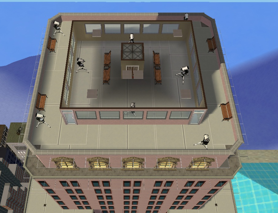 Mod the sims the empire state building for 103rd floor empire state building
