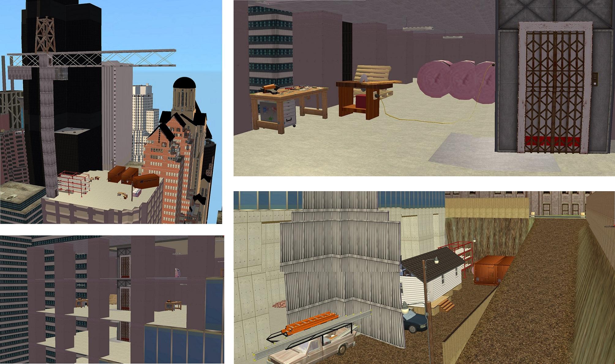 Mod The Sims - Skyscraper Under Construction