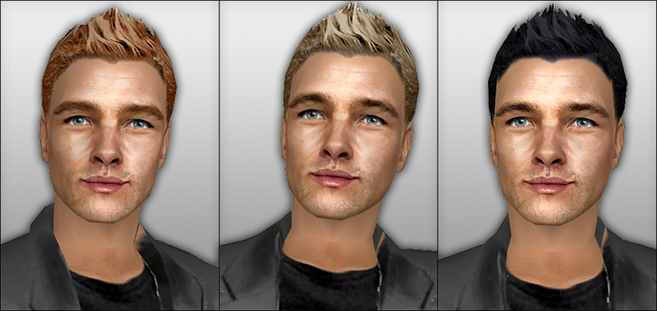 Mod The Sims - New Styled Short Hair For Men