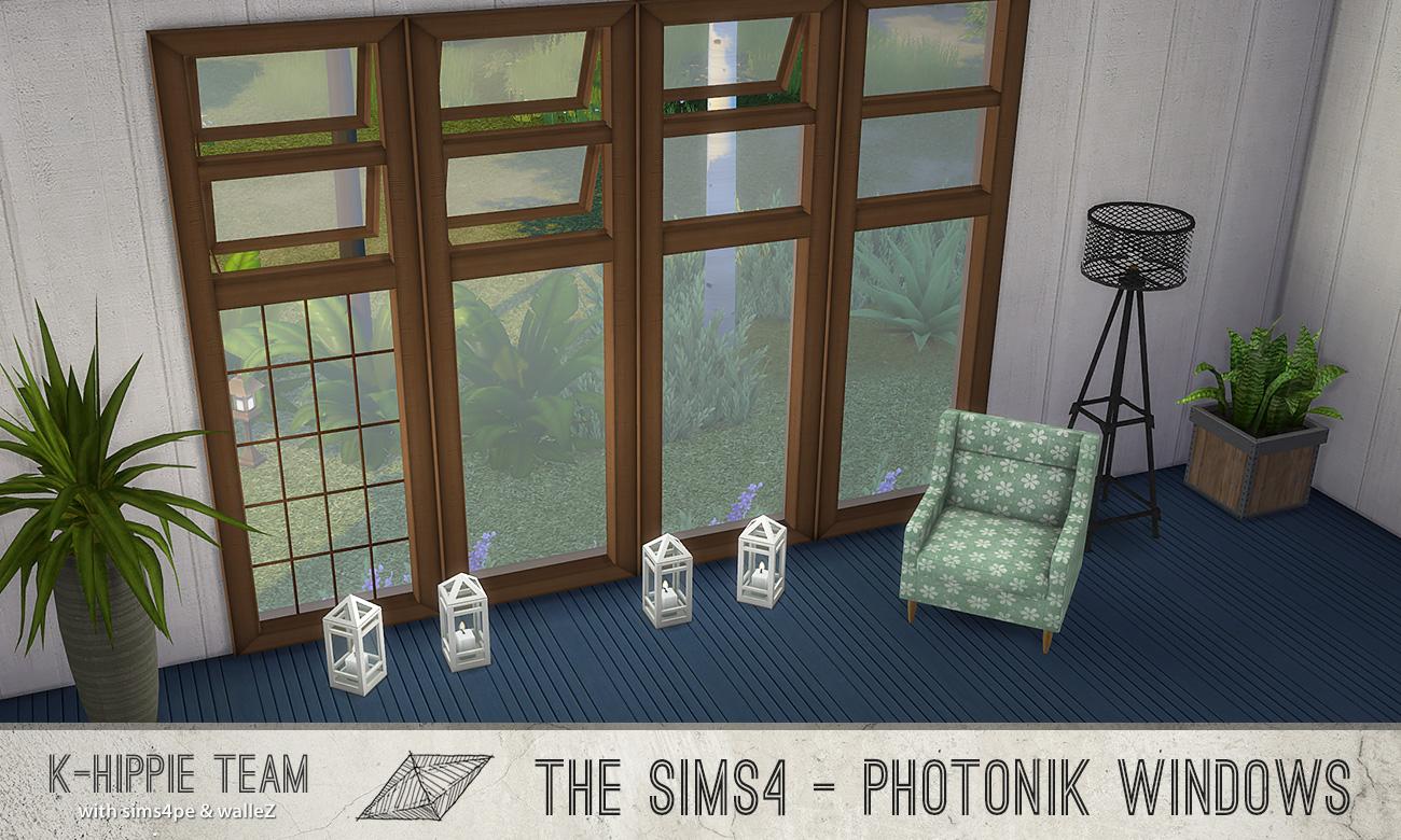 K Photonik ( Sunny / Moonlight ) 15 Windows ( x 7 recolors ) - set 1
