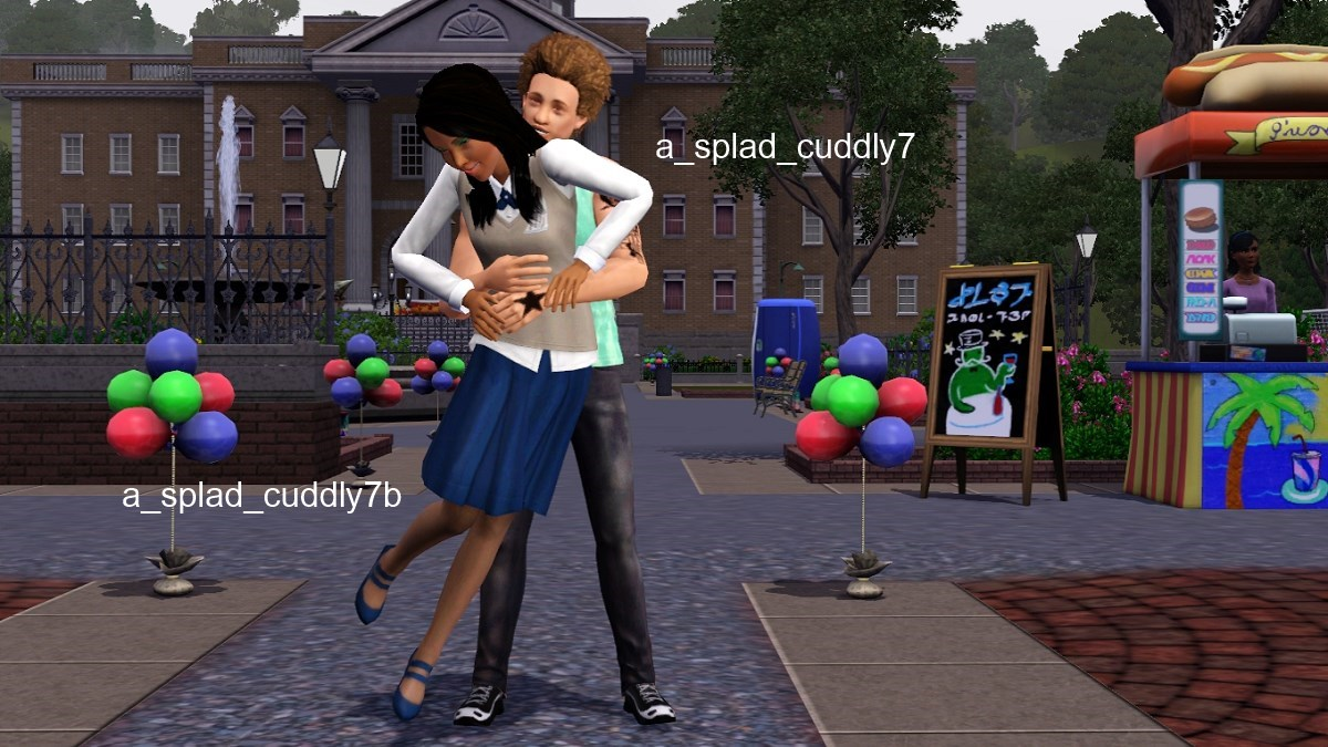 sims 3 holding hands mod