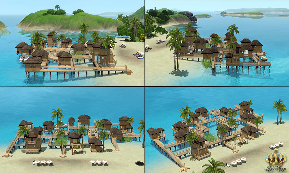 Sims  How To Build Resort Tower
