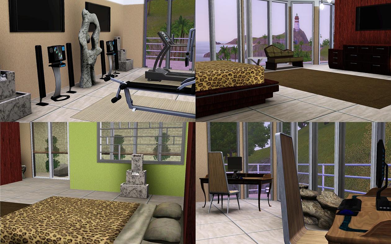 Mod The Sims Iron Man Tony Stark 39 S Home